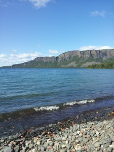 Emmi Nivala / Hiking at Sleeping Giant Provincial Park
