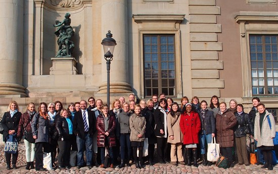 The meeting took place at the Swedish Institute in Stockholm on the 14th-15th October.
