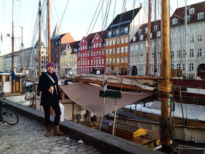 Julie Lepage / Along the Dock in Copenhagen